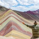 Vinicunca atau Rainbow Mountain, Peru